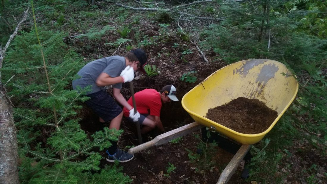 Trail work days – Oct 14th 8:30-12:30 & Oct 15th 2-6pm