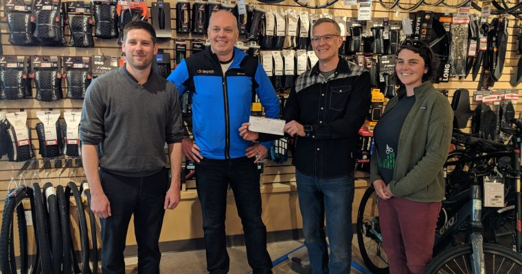 Halifax C&D Recycling supports McIntosh Run Singletrack Trails